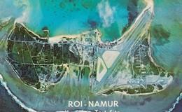 Roi-Namur Kwajelain Atoll Marshall Islands Test Site, Cold War Radar Test Site, C1960s Postcard - Marshall Islands