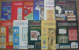 REVUE L'ECHO DE LA TIMBROLOGIE Année 1993 Complète (n° 1649 à 1659) - Francesi (dal 1941))