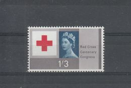 GREAT BRATIN  RED CROSS STAMP   1V MINT NH - 1952-.... (Elizabeth II)