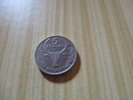 Madagascar - 5 Francs 1968.N°595. - Madagaskar