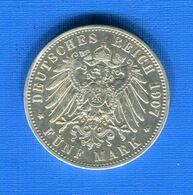 All  5  Mark  1907 - [ 2] 1871-1918: Deutsches Kaiserreich