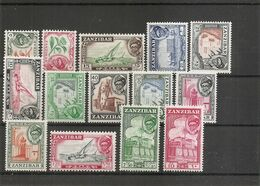 Zanzibar ( Lot De Timbres Divers Différents X -MH) - Zanzibar (1963-1968)