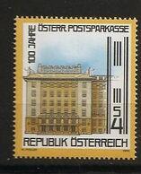 Autriche Österreich 1983 N° 1557 ** Banque, Caisse D'épargne Postale, Art Nouveau, Otto Wagner Musée Aluminium Assurance - 1981-90 Ongebruikt