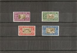 Indes Néérlandaises  ( 171/174 X -MH) - Nederlands-Indië