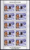 GUINEE  Poste 2007 ** MNH X 3 Louis PASTEUR Médecin Vaccin Contre La Rage (3 Blocs De 10 TP) - Louis Pasteur