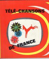 -- TELE-CHANSONS DE FRANCE / ALBUM COMPLET / CHOCOLAT POULAIN -- - Sammelbilderalben & Katalogue