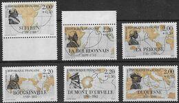FRANCE N°2517 à 2522 ** 6 Valeurs Neuves Sans Charnière Luxe Série Complète MNH - Unused Stamps