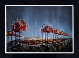 C-GERMAN EMPIRE-Third Reich.MILITARY PROPAGANDA POSTCARD REICHSPARTEITAGE Nurnberg.WWII.DEUTSCHES REICH - Lettres & Documents