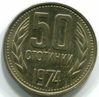 Bulgaria 50 Stotinki 1974 - Bulgaria