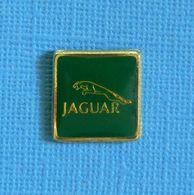 1 PIN'S //  ** LOGO / JAGUAR / EMBLÈME JAGUAR BONDISSANT ** - Jaguar
