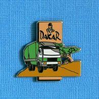 1 PIN'S //  ** RALLYE RAID CAMION / PARIS DAKAR ** . (Starpin's '94) - Rallye