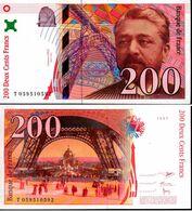 Billet De 200 Francs Gustave EIFFEL ( Français ) Date De 1997 Très Bon état - Unclassified