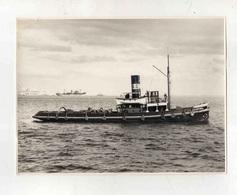 Cx14 A4) Photo Original Portugal Steamer Vapor Sociedade Geral S.G. ESTORIL 17,5x23cm - Boats