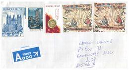 (N 24) Belgium - Letter Posted To Australia (no Postmarks) - Belgium