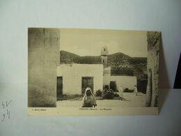DEBDOU Debdou (en Amazighe ⴷⴻⴱⴷⵓ) MAROC RÉGION RIF ORIENTAL PROVINCE DU TAOURIRT LA MOQUÉE CPA D.MILLET ÉDITEUR - Altri