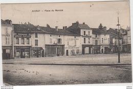CIVRAY PLACE DU MARCHE 1918 TBE - Civray