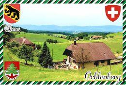 Postcard, REPRODUCTION, Switerland, Canton Bern, Ochlenberg - Landkaarten