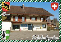 Postcard, REPRODUCTION, Switerland, Canton Bern, Rohrbachgraben - Landkaarten