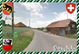 Postcard, REPRODUCTION, Switerland, Canton Bern, Rütschelen - Landkaarten