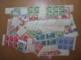 LOT DE + 300 TIMBRES D ' ALGERIE , PAR MULTIPLES , NEUFS (a) - Collections