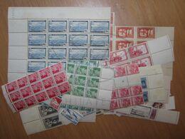 LOT DE + 500 TIMBRES D ' ALGERIE , PAR MULTIPLES , NEUFS (b) - Collections