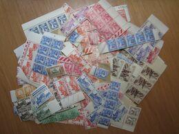 LOT DE + 500 TIMBRES DE TUNISIE , PAR MULTIPLES , NEUFS (b) - Collections