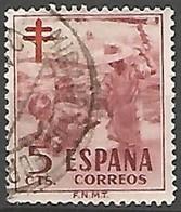 ESPAGNE N° 824 OBLITERE - 1931-Aujourd'hui: II. République - ....Juan Carlos I