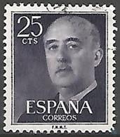 ESPAGNE N° 857 OBLITERE - 1931-Aujourd'hui: II. République - ....Juan Carlos I