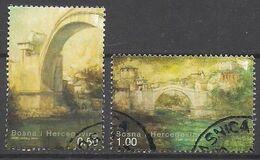 Bosnien - Herzegowina  (2004)  Mi.Nr.  366 + 367 A  Gest. / Used  (1gk28) - Bosnie-Herzegovine