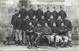 PONTARLIER Carte Photo Campagne 1914 1915 - Pontarlier