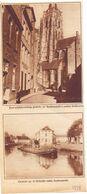 Orig. Knipsel Coupure Tijdschrift Magazine - Oudenaarde - Schilderachtig Hoekje Met Kerktoren - 1928 - Vecchi Documenti