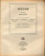 ANNUAIRE - 55 - Département Meuse - Année 1948 - édition Didot-Bottin - 76 Pages - Telephone Directories