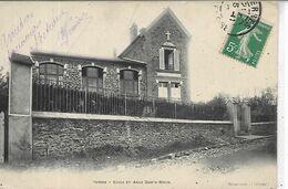 91,Essonne, YERRES, Ecole Et Asile Sainte-Marie,  Scan Recto-Verso - Yerres