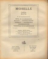 ANNUAIRE - 57 - Département Moselle - Année 1948 - édition Didot-Bottin - Pub Bonnes Adresses 2p - Telephone Directories