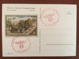 "III. Reich, Propaganda  Karte, ""L.M.G. Stempel Feldpost PARIS "" VIGNETTE ! - Weltkrieg 1939-45"