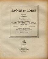ANNUAIRE - 71 - Département Saône Et Loire - Année 1948 - édition Didot-Bottin - Telephone Directories