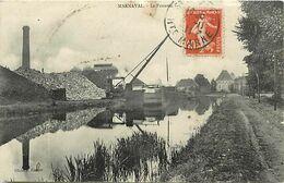 - Dpts Div-ref-AU93- Haute Marne - Marnaval - Le Panama - Chargement D Une Peniche - Canal - Canaux - Industrie - - Otros Municipios