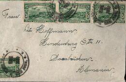 ! Luftpostbrief 1939 Aus Costa Rica Nach Saarbrücken,  Devisenüberwachung - Costa Rica