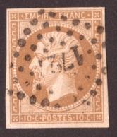 Napoléon III - N° 13B Brun-clair - Oblitération PC 1727 Lille - 1853-1860 Napoleon III
