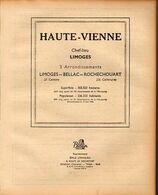 ANNUAIRE - 87 - Département Haute Vienne - Année 1948 - édition Didot-Bottin - Telephone Directories
