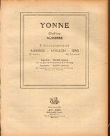 ANNUAIRE - 89 - Département Yonne - Année 1948 - édition Didot-Bottin - Telephone Directories