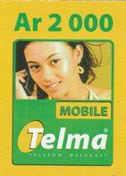 Madagascar - Telma - Woman Ar 2 000 - Madagascar