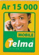 Madagascar - Telma - Woman Ar 15 000 - Madagascar