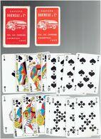 JEU DE 32 CARTES A JOUER PUBLICITE DORMEAU FUEL GAZ CHARBONS A CHAMPHOL ET LUCE EURE ET LOIR - Playing Cards (classic)