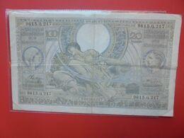BELGIQUE 100 FRANCS 1942 Circuler - [ 2] 1831-... : Belgian Kingdom