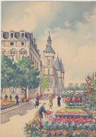 BARRE DAYEZ 2302 R   Le Marché Aux Fleurs  ( Scan Recto-verso ) - Sonstige