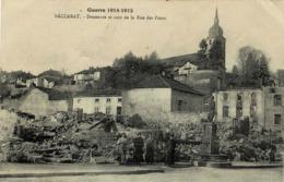 54 * Baccarat - Deneuvre Et Coin De La Rue Des Ponts - War 1914-18