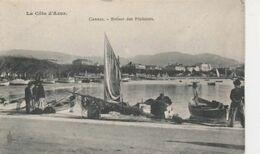 CANNES  ( 06 )  RETOUR DES  PÊCHEURS  - CPA  ( 20 / 9 / 149  ) - Cannes
