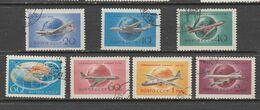 Russie   1958  Aérien  N° 105 à 111  Oblitéré  Série Compléte - 1923-1991 UdSSR