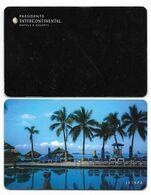 Presidente InterContinental, Ixtapa, Mexico, Used Cntactless Hotel Room Key Card # Interc-101 - Hotelsleutels (kaarten)